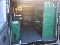Van racking-shelving