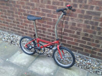 Folding Bike Daewoo Shuttle BECOMING A VERY RARE COLLECTORS ITEM ~FREE LOCAL DELIVERY~