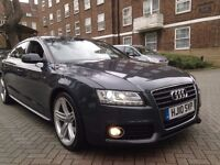 AUDI A5 2.0 TDI S LINE SPORTBACK 2010 5dr EXCELLENT EXAMPLE PX WELCOME