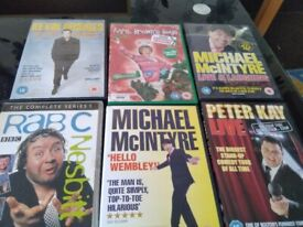 Comedy DVDs £1 each or 6 for £5 new condition