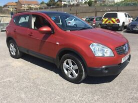 2007 Nissan Quashqai Acenta 1.6 With Full service history.