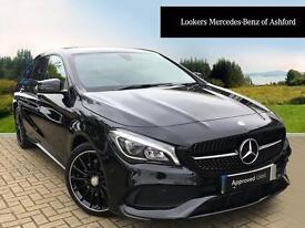 Mercedes-Benz CLA CLA 220 D AMG LINE (black) 2017-05-05