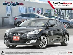 2012 Hyundai Veloster *TECH PACKAGE W. NAVI* Low Mileage, Cle...