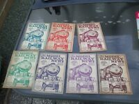 7 ISSUES MAGAZINES THE MODEL RAILWAY NEWS 1925/26