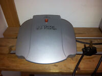 George Foreman 2-portion grill
