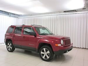 2016 Jeep Patriot 4X4 HIGH ALTITUDE SUV, ONE OWNER TRADE! LIKE N