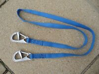Boat Safety Line (Harness/Tether) (1.9m length) with fitted Double Hooks