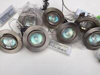 20x Dimmable Chrome Spotlights with Transformers (Job Lot)