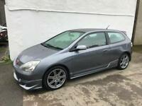 Honda Civic type r , excellent car throughout