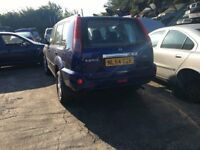 2004 NISSAN X-TRAIL 16V SVE (MANUAL PETROL)FOR PARTS ONLY