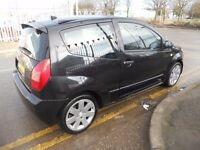 (2004)CITROEN C2 ,GT,3 DOOR HATCHBACK ,1.6.CC ,P.X. TO CLEAR ,..........