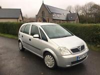 Vauxhall meriva 1.6 enjoy, spares or repair 6 months mot £195