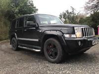 2007 3.0 CRD jeep commander diesel 4x4 7 seater