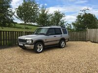 Landrover Discovery TD5 Special Edition Braemar 2001