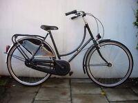Dutchie Ladies Town/ Commuter bike, Black,3 Speed, Excellent Condition, JUST SERVICED/CHEAP PRICE!!!