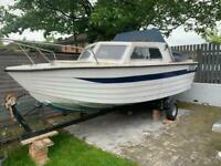 Powerboat 1972 HS Cruiser 14ft 25HP with Trailer