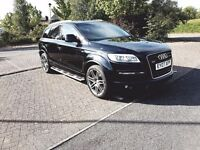 AUDI Q7 S LINE 2007 PANORAMIC ROOF 12 MONTHS WARRANTY