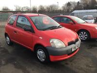 2001 Toyota Yaris 1.0 gs full mot