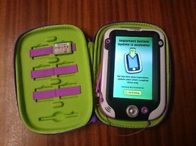 LEAPFROG LEAPPAD ULTRA TABLET PINK WITH ORIGINAL CHARGER & PROTECTIVE POUCH