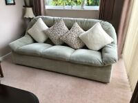 3 seater sofa .Very comfortable and in good condition.