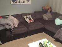 FREE grey corner suite