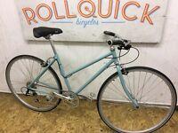 Raleigh Pioneer custom hybrid bike
