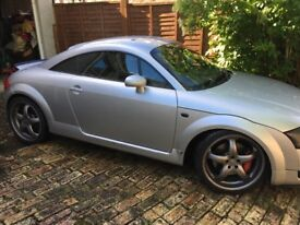 MODIFIED AUDI TT 1.8 T QUATTRO open to offers or swap