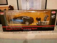 New and sealed bugatti rc car