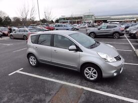 Nissan Note Accenta 1.6 Automatic,34000,5 months MOT,Service history, very clean car £4100 ONO