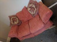 3 X Two seater sofas