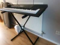 Casio keyboard & stand