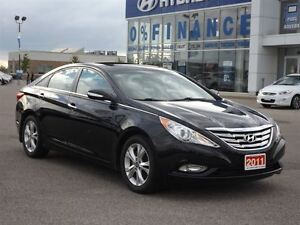 2011 Hyundai Sonata Limited | LEATHER | SUNROOF | ONLY 60K! Stratford Kitchener Area image 12