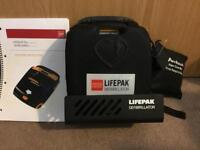 Physio Control Lifepak Defibrillator CR plus - Brand New With Mount RRP £950