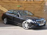 Mercedes-Benz E Class E250 CDI BlueEFFICIENCY Sport 4dr Tip Auto SAT NAV (black) 2011
