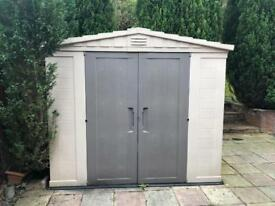 Excellent condition Keter Shed 8ft x 8ft