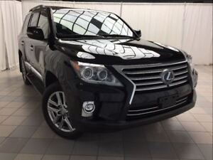 2015 Lexus LX 570 Executive Package: 1 Owner, ECP Warranty.