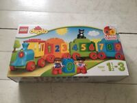 Duplo train learn to count
