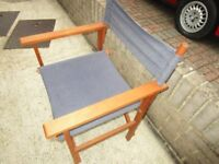 directors chairs , clean . for garden or balcony !