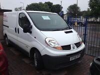 Renault Trafic White Van For Sale