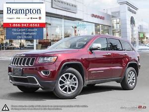 2016 Jeep Grand Cherokee Limited  Company Demo|4X4|Leather|Bluet