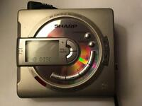 Sharp Portable Minidisc Recorder with 20 new MDs