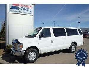 2014 Ford E-350 XLT 15 Passenger - Pwr Windows & Locks, 53012 KM