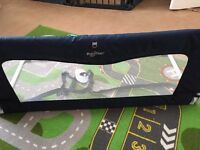 BabyDan Sleep n Safe blue bed guard rail
