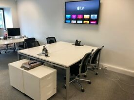 Office Desk Space available in our modern office located close to M1 & M25