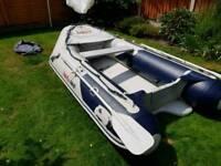 Honwave t27 inflatable rib boat
