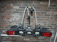 Volkswagen tow bar mounted 2 cycle carrier