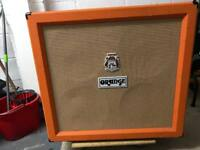 Unloaded Orange PPC 4x12 Guitar Cab
