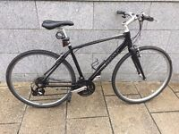 Hybrid Gian 21 speed Lights, folding mudguard and folding bike stand included, 3 years old