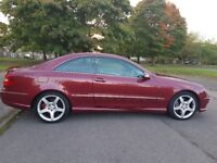 2007 MERCEDES CLK220 2.2 CDI SPORT DIESEL 2 DOOR COUPE