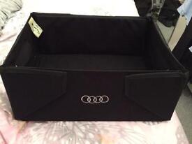Genuine Audi boot storage box